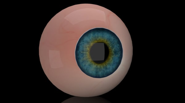 eye ball fbx