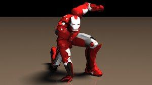 obj iron man