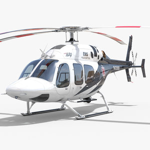 3d model bell 429 ems