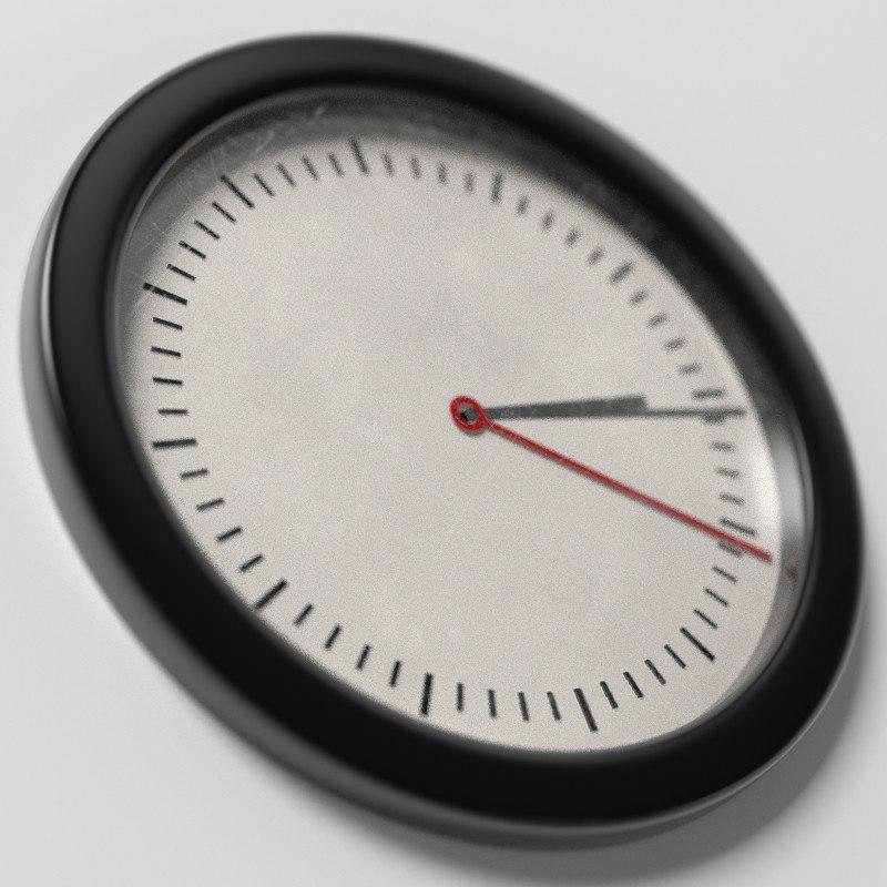 blend wall clock