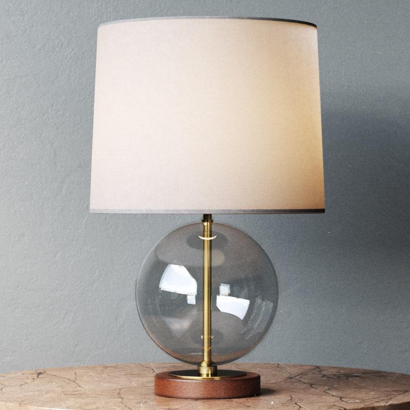 lawson table lamp 3d model