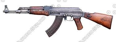pack 2 guns 3d max