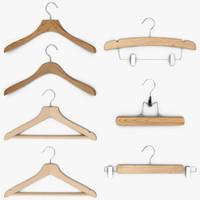 3d model hanger clothes