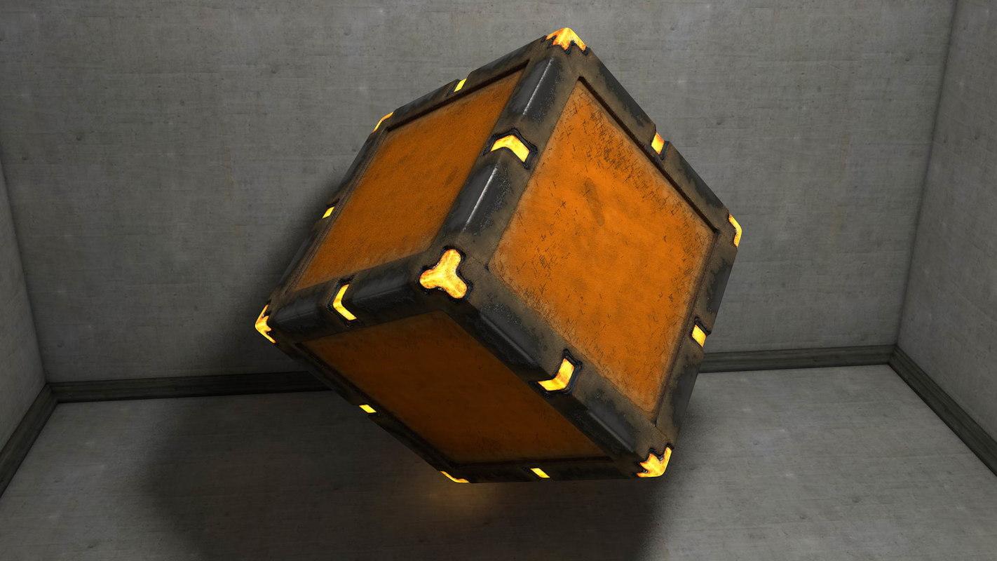 obj crate illumination