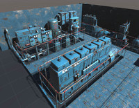 3d model machinery pack