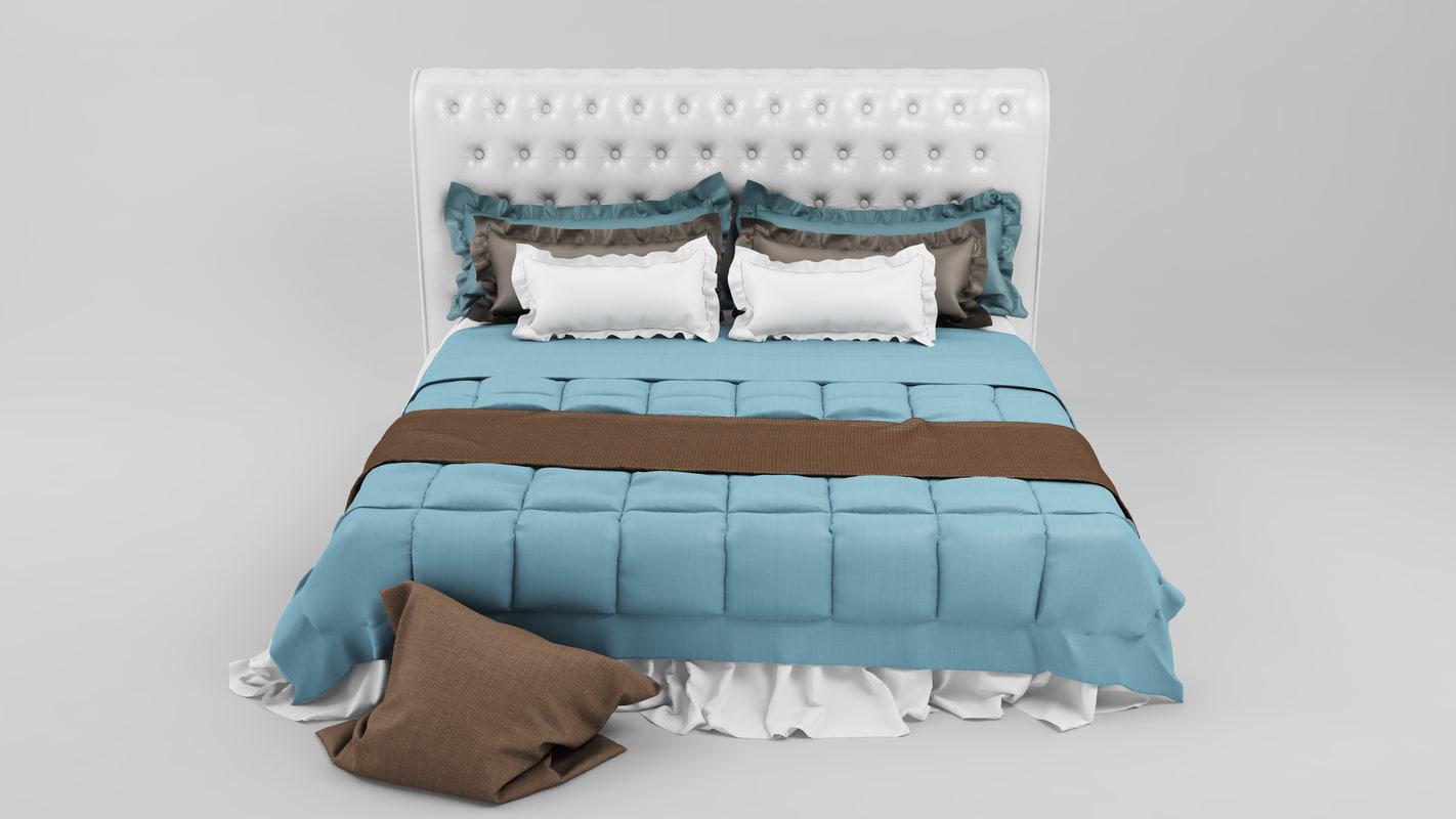 bed 13 3d c4d