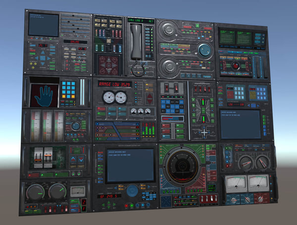 3d control panels