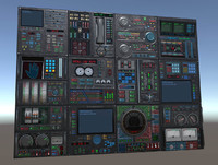 PSR control panel pack