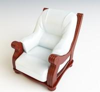 armchair extasy 3d model