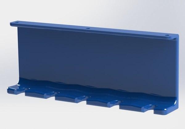 3d model toothbrush holder b