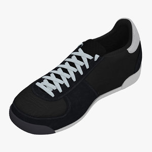 bobsleigh shoes 3d 3ds