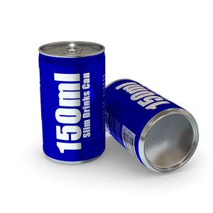 drinks - 150ml slim max