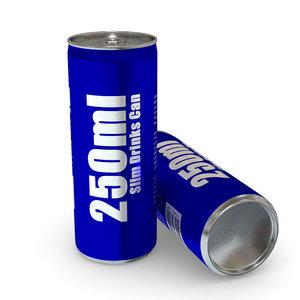 drinks - 250ml slim 3ds