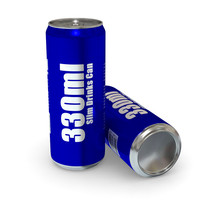 Drinks Can - 330ml Slim