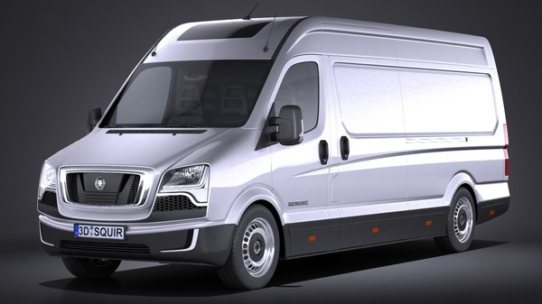 generic big van 3d model