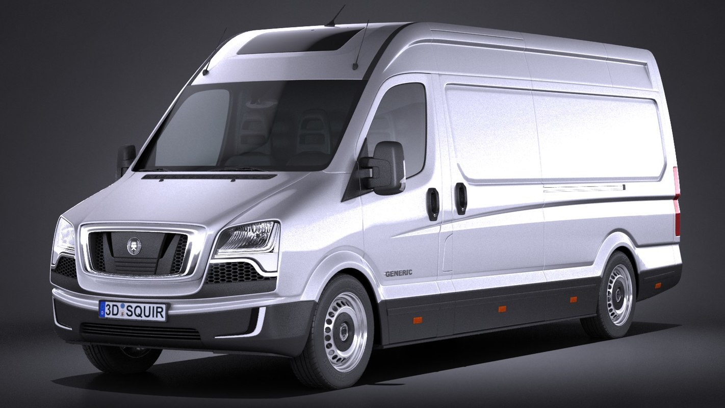 generic big van 3d model