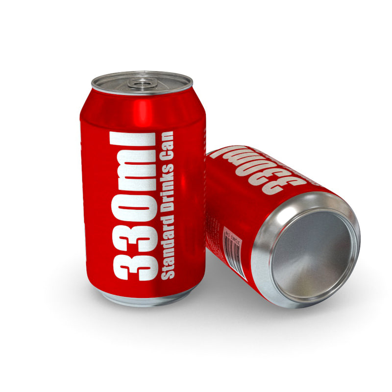 3d drinks - 330ml standard