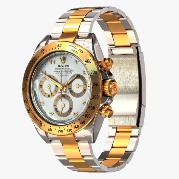 rolex oyster perpetual cosmograph 3d model