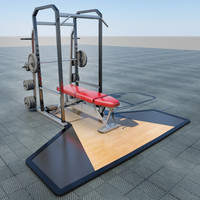 3d power lift - bench press