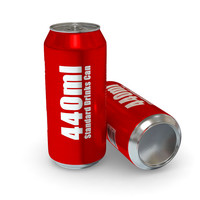 Drinks Can - 440ml Standard