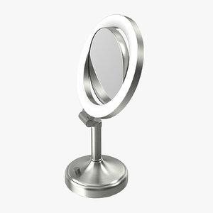 makeup mirror 01 3d model