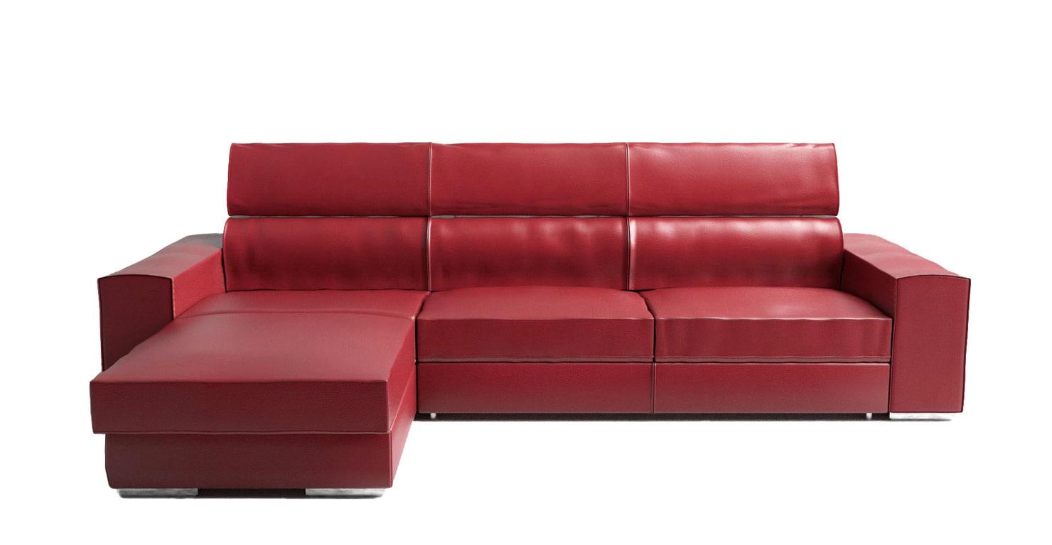 realistic corner sofa 3d model