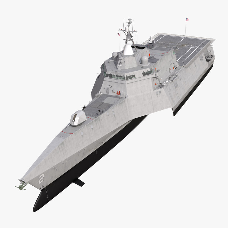 3d uss independence lcs-2 rigged