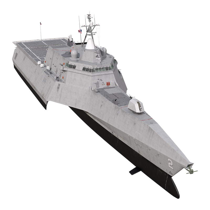 3d uss independence lcs-2 model