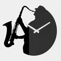 free jazz clock 3d model