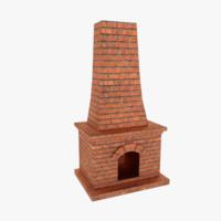 fireplace games 3d model