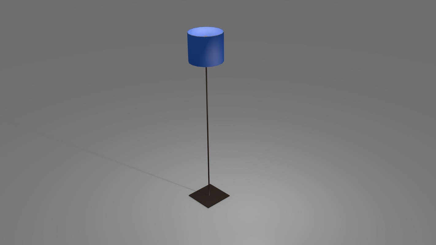 floor lamp 3ds free