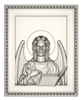 angel icon stl 3ds