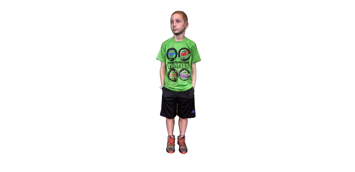 child 3d 3ds