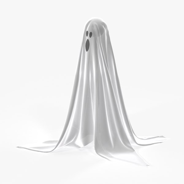 ghost decoration 3d max
