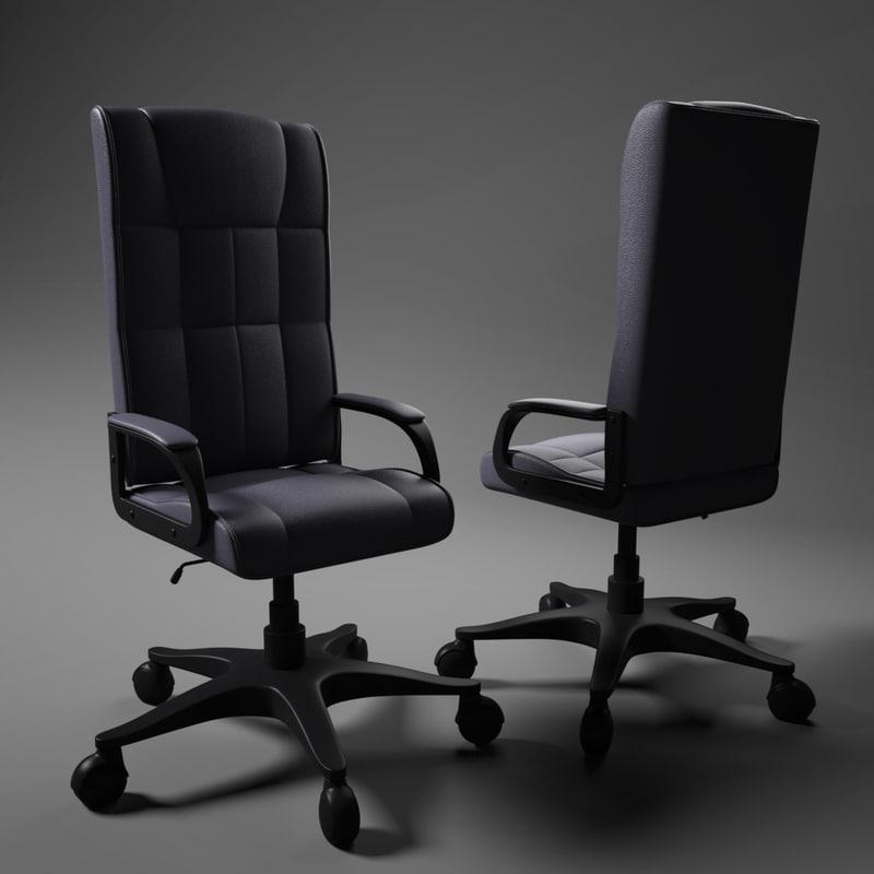 obj computer chair