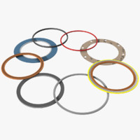 3d model gasket jacketed kammprofile