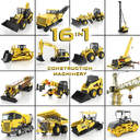 Heavy Construction Machinery Equipment Industrial 16 in 1 vol. 1