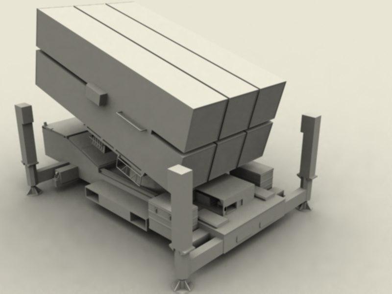 3d nasams surface air model