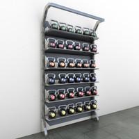 3d model kettle rack