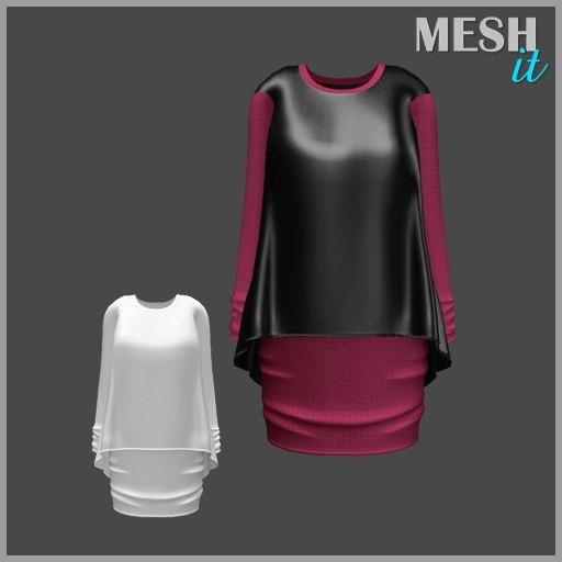 3ds dress tunic
