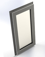 plastic window 3d model