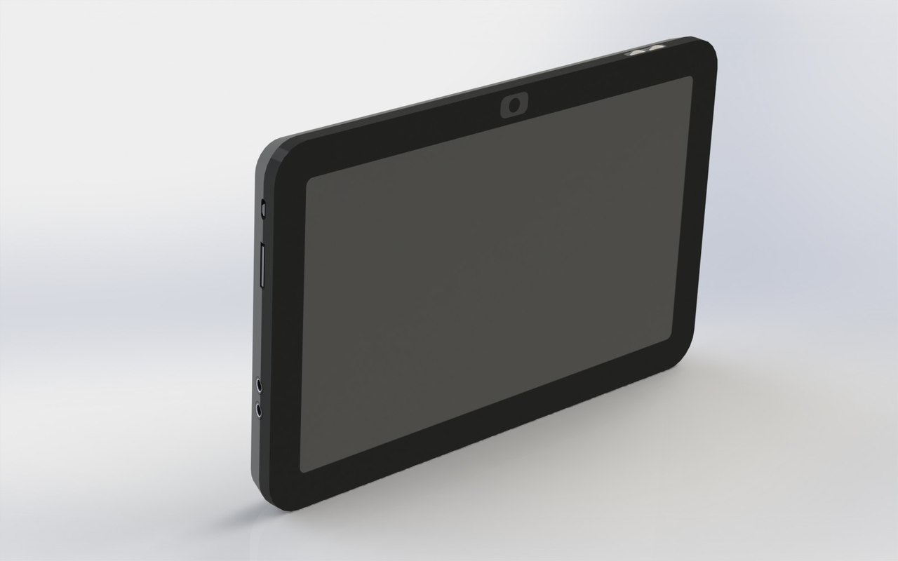 tablet electronic 3d 3ds