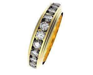 obj ring set diamonds