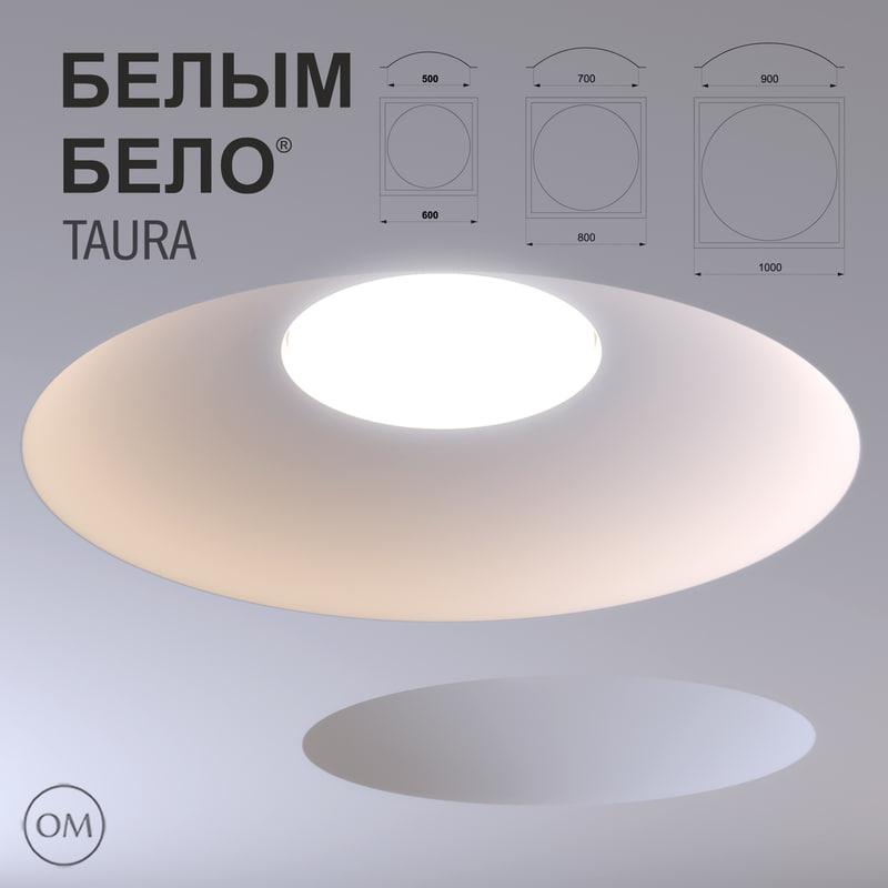 free led lamp lighting belo 3d model