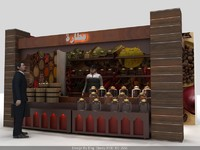 Spice Stand - 3D Max pack