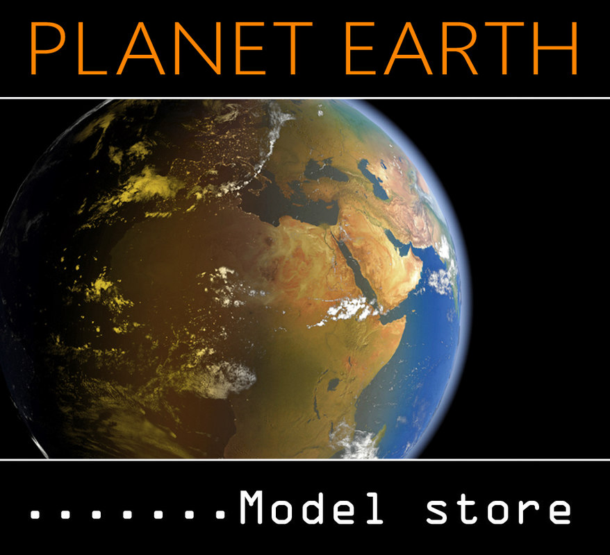 planet earth 3d 3ds