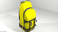 3d backpack travel model