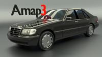 S-Class Mercedes W140