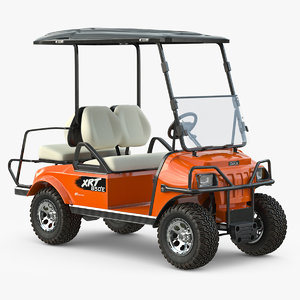 3d obj golf car xrt 850