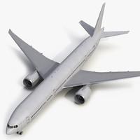 boeing 777 8x generic 3d model
